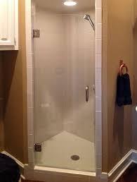 frameless single shower doors. Single Frameless Glass Shower Door Doors E