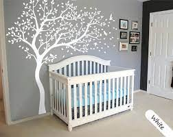 white tree wall decal large tree wall