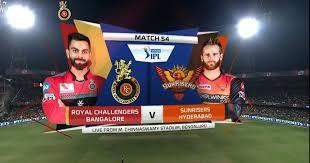Ipl 2021 सीजन का छठा मैच आज रॉयल चैलेंजर्स बेंगलुरु (rcb) और सनराइजर्स हैदराबाद (srh) के बीच खेला जाएगा। M54 Rcb Vs Srh Match Highlights