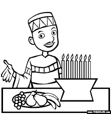 Free Printable Coloring Kwanzaa Coloring Pages 94 For Coloring