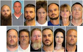 Bust Members - Pagan's Florida Gang Gainesville Fl Motorcycle Up Federal In Meth Gainesville News Sun Rounded