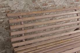 industrial vintage garden bench