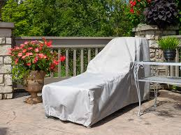 how to make furniture covers. Perfect Make Our Lounge Chair Cover Installed On The Patio To How Make Furniture Covers A