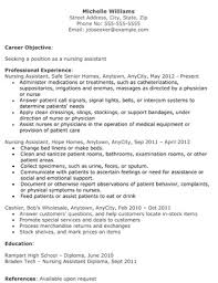 Cna Resume Example Example Cna Resume Cna Resume Resume Example