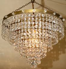 beautiful five tiered strass waterfall chandelier th9
