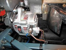alternator lightweight integrated regulator the e type forum the denso alternator requires a third connection to energise the coils when the ignition is switched on you therefore need to run a brown purple wire from