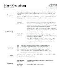 Quick Resume Builder Free Extraordinary Quick And Easy Resume Pelosleclaire