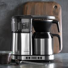 bonavita 8 cup digital coffee maker with stainless steel carafe williams sonoma