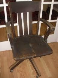 gray swivel office chair 75 vintage wooden. desk chairantique wooden chair on wheels swivel office with arms original mechanism gray 75 vintage m