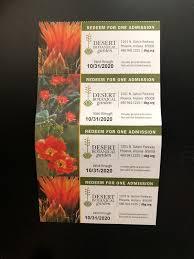 desert botanical garden general admission tickets for in scottsdale az offerup