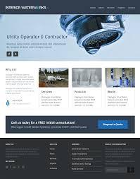 Design Utility Website Masculine Bold Utility Web Design For Interior Waterworks