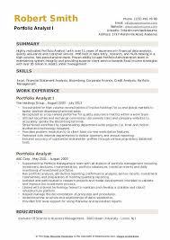 Research Portfolio Template Portfolio Analyst Resume Samples Qwikresume