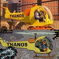 Thanos copter Lego VS Comics ...
