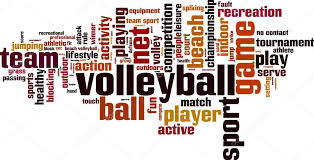 Volleyball Word Volleyball Word Cloud Stock Vector Boris15 65304905