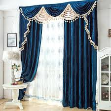 royal blue velvet curtains view full size royal blue royal velvet plaza curtains steel blue