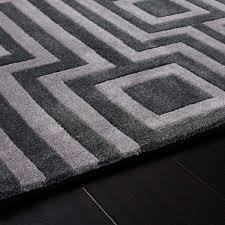 geo grey geometric rug by rug guru 2