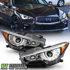 Infiniti Adaptive Front Lighting System Details About For 2014 2017 Q50 W O Afs Led Drl Projector Headlights Headlamps Pair Left Right