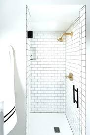 grouting a shower grout shower tiles white subway shower tiles with gray grout and brushed gold grouting a shower