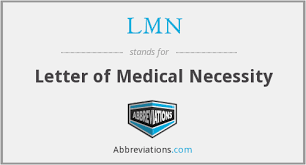 Letter Of Medical Necessity Form Magnificent What Is The Abbreviation For Letter Of Medical Necessity