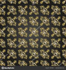 Naadloos Behang In De Stijl Van Barok Stockfoto Turr1 135513902