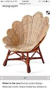 Rattan <b>shell chair</b> | Плетеная мебель, Ротанга, Мебель