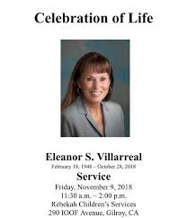 Eleanor Villarreal: Gilroy woman remembered for her passion to ...