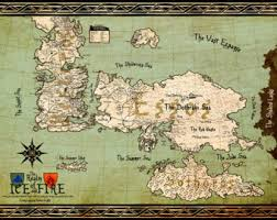 game of thrones map etsy Map Of Game Of Thrones World Pdf game of thrones map, westeros map, vintage map style, digital print, game map of game of thrones world 2016