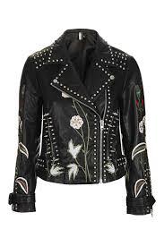 make a statement in a studded biker jacket like heidi