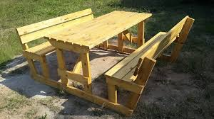 Diy Picnic Table Ideas  Boundless Table IdeasHow To Make Picnic Bench