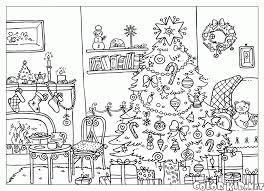 Disegni Da Colorare Albero Di Natale