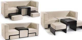 Modular Slot Sofa Ideas For Small Space small sectional sofas