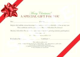 Examples Of Executive Resumes Free Massage Gift Certificate
