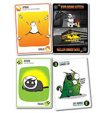 exploding kittens card game. Perfect Game EXPLODING KITTENS NSFW CARD GAME And Exploding Kittens Card Game N