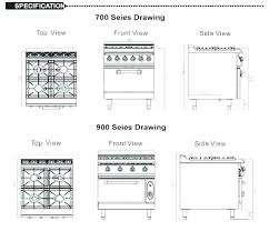 gas stove top cabinet. Gas Range Sizes Standard With Cabinet Or Electric Oven 4 Burners Size Of Stove Top T