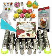 Russian Piping Tips Set Cake Decorating Tips 33 Icing Piping Tips For Cake De