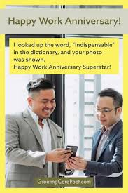 After all, ten years is almost always mathematically at least 20% of the typical employee's working career and that employee definitely needs acknowledgement and accolades. 101 Happy Work Anniversary Messages To Make Someone S Day