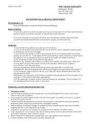 best photos of receptionist job description sample receptionist best photos of receptionist job description sample receptionist medical receptionist description resume medical receptionist job description