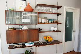 Small Picture Kitchen Wall Shelves Built In Kitchen Wall Shelf Entrancing