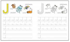 Letter J Worksheets Kindergarten - Checks Worksheet
