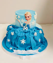 Frozen Princess Dress Birthday Cake Cbg 157 Confection Perfection