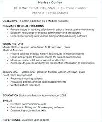 medical laboratory assistant resume objective for a medical assistant resume tehnolife