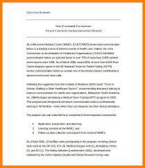 Executive Summary Format Free Executive Summary Template 31
