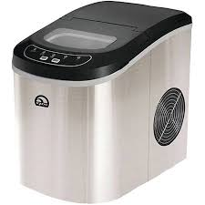 igloo portable countertop ice maker stainless steel