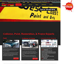 West Coast Paint And Design California West Coast Paint Body Competitors Revenue And