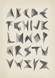 Abstract Font By Francesca Scalon Via Behance Typography