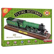cheatwell games 3d flying scotsman puzzle