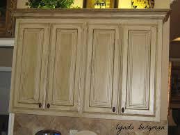 Antique Kitchen Furniture Painting Oak Kitchen Cabinets Antique White Monsterlune