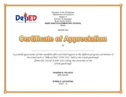 Certificate Of Recognition Wordings Plaque Template Appreciation Examples Of Wording Army Certificate For