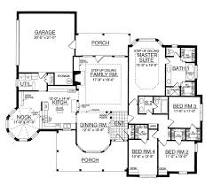 country house plan first floor 030d 0072 house planore