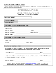 Generic Employment Verification Form Employment Verification Form Sample Oloschurchtp 17